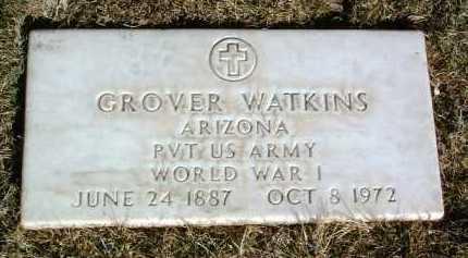 WATKINS, GROVER - Yavapai County, Arizona | GROVER WATKINS - Arizona Gravestone Photos
