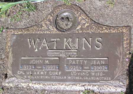 WATKINS, PATTY JEAN - Yavapai County, Arizona | PATTY JEAN WATKINS - Arizona Gravestone Photos