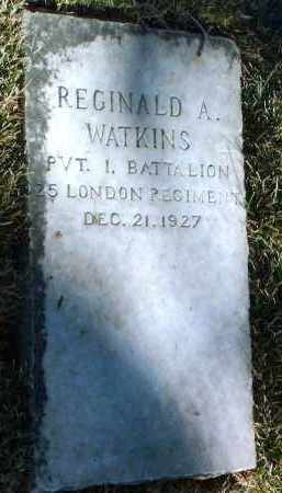 WATKINS, REGINALD ARTHUR - Yavapai County, Arizona | REGINALD ARTHUR WATKINS - Arizona Gravestone Photos