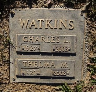WATKINS, THELMA MAUDE - Yavapai County, Arizona | THELMA MAUDE WATKINS - Arizona Gravestone Photos