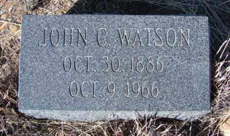 WATSON, JOHN CLARENCE - Yavapai County, Arizona | JOHN CLARENCE WATSON - Arizona Gravestone Photos