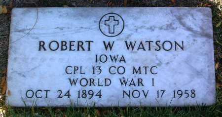 WATSON, ROBERT W. - Yavapai County, Arizona | ROBERT W. WATSON - Arizona Gravestone Photos