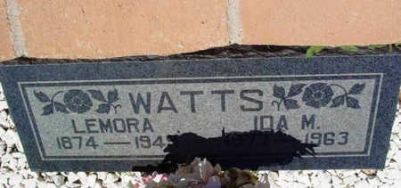 WATTS, LEMORA - Yavapai County, Arizona | LEMORA WATTS - Arizona Gravestone Photos