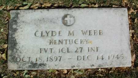 WEBB, CLYDE M. - Yavapai County, Arizona | CLYDE M. WEBB - Arizona Gravestone Photos