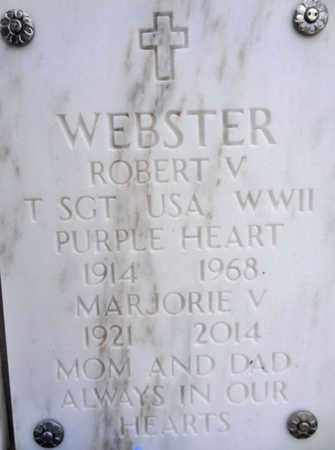WEBSTER, ROBERT V. - Yavapai County, Arizona | ROBERT V. WEBSTER - Arizona Gravestone Photos
