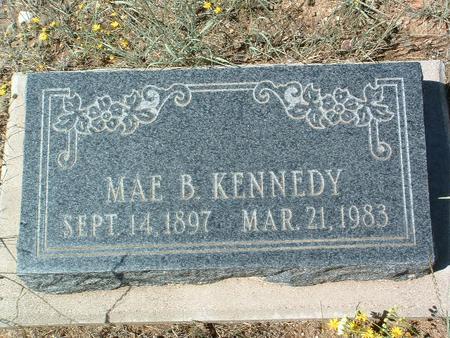 WECKER KENNEDY, MAY B. - Yavapai County, Arizona | MAY B. WECKER KENNEDY - Arizona Gravestone Photos