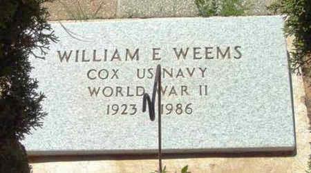 WEEMS, WILLIAM EDGAR - Yavapai County, Arizona   WILLIAM EDGAR WEEMS - Arizona Gravestone Photos