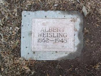 WEISLING, ALBERT - Yavapai County, Arizona | ALBERT WEISLING - Arizona Gravestone Photos