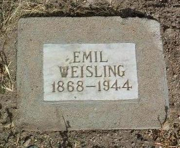 WEISLING, EMIL E. - Yavapai County, Arizona | EMIL E. WEISLING - Arizona Gravestone Photos