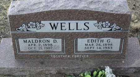 MONTGOMERY WELLS, E. - Yavapai County, Arizona | E. MONTGOMERY WELLS - Arizona Gravestone Photos