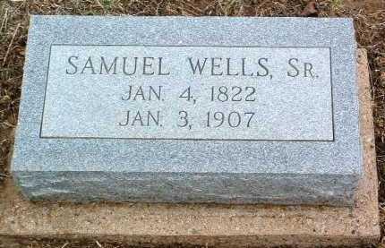 WELLS, SAMUEL, SR. - Yavapai County, Arizona   SAMUEL, SR. WELLS - Arizona Gravestone Photos