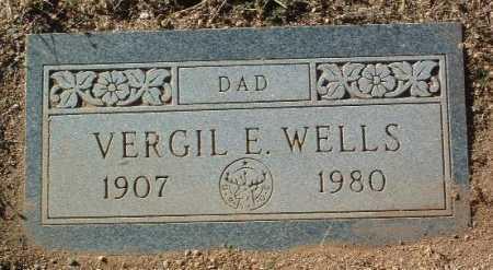 WELLS, VERGIL E. - Yavapai County, Arizona | VERGIL E. WELLS - Arizona Gravestone Photos