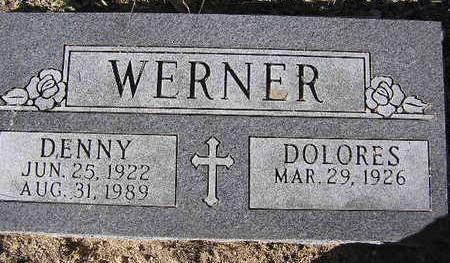 WERNER, DENNY - Yavapai County, Arizona | DENNY WERNER - Arizona Gravestone Photos