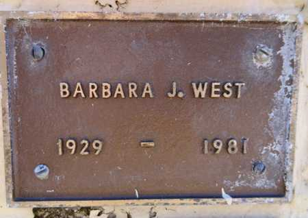 WEST, BARBARA JEAN - Yavapai County, Arizona | BARBARA JEAN WEST - Arizona Gravestone Photos