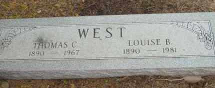 BEST WEST, LOUISE B. - Yavapai County, Arizona | LOUISE B. BEST WEST - Arizona Gravestone Photos