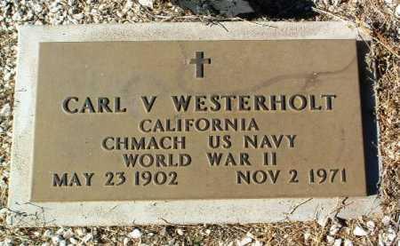 WESTERHOLT, CARL VERNON - Yavapai County, Arizona | CARL VERNON WESTERHOLT - Arizona Gravestone Photos