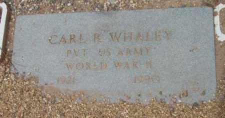 WHALEY, CARL REGINALD - Yavapai County, Arizona   CARL REGINALD WHALEY - Arizona Gravestone Photos