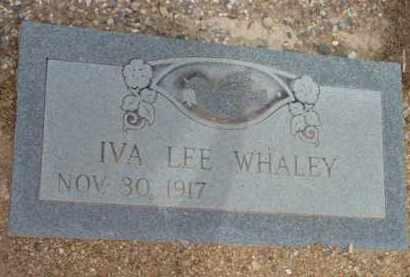 WHALEY, IVA LEE - Yavapai County, Arizona   IVA LEE WHALEY - Arizona Gravestone Photos