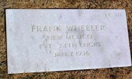 WHEELER, FRANK - Yavapai County, Arizona   FRANK WHEELER - Arizona Gravestone Photos