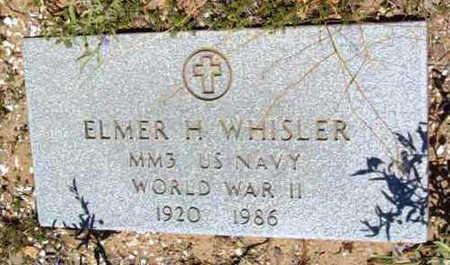 WHISLER, ELMER E. - Yavapai County, Arizona | ELMER E. WHISLER - Arizona Gravestone Photos