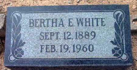 WHITE, BERTHA ELIZABETH - Yavapai County, Arizona | BERTHA ELIZABETH WHITE - Arizona Gravestone Photos
