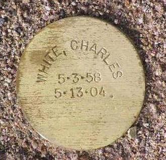 WHITE, CHARLES - Yavapai County, Arizona | CHARLES WHITE - Arizona Gravestone Photos