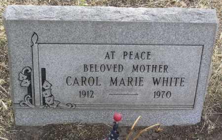 WHITE, CAROL MARIE - Yavapai County, Arizona | CAROL MARIE WHITE - Arizona Gravestone Photos