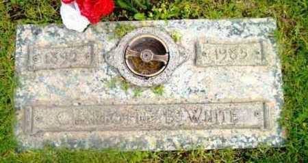 WHITE, CHARLOTTE B. - Yavapai County, Arizona   CHARLOTTE B. WHITE - Arizona Gravestone Photos