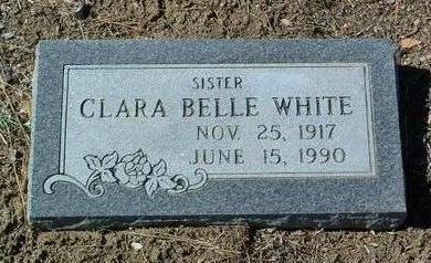WHITE, CLARA BELLE - Yavapai County, Arizona   CLARA BELLE WHITE - Arizona Gravestone Photos