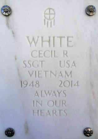 WHITE, CECIL ROBERT - Yavapai County, Arizona   CECIL ROBERT WHITE - Arizona Gravestone Photos