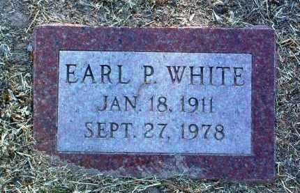 WHITE, EARL PRESTON - Yavapai County, Arizona   EARL PRESTON WHITE - Arizona Gravestone Photos