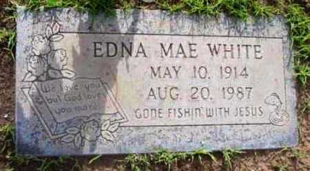WHITE, EDNA MAE - Yavapai County, Arizona   EDNA MAE WHITE - Arizona Gravestone Photos