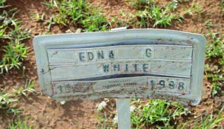 WHITE, EDNA GERTRUDE - Yavapai County, Arizona | EDNA GERTRUDE WHITE - Arizona Gravestone Photos