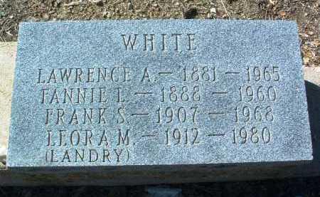 HEANY WHITE, FANNIE L. - Yavapai County, Arizona | FANNIE L. HEANY WHITE - Arizona Gravestone Photos