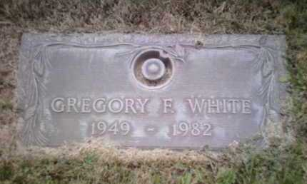 WHITE, GREGORY F. - Yavapai County, Arizona   GREGORY F. WHITE - Arizona Gravestone Photos