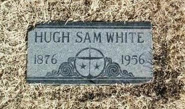 WHITE, HUGH SAM - Yavapai County, Arizona   HUGH SAM WHITE - Arizona Gravestone Photos