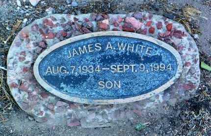 WHITE, JAMES A. - Yavapai County, Arizona   JAMES A. WHITE - Arizona Gravestone Photos