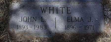 WHITE, JOHN L. - Yavapai County, Arizona | JOHN L. WHITE - Arizona Gravestone Photos