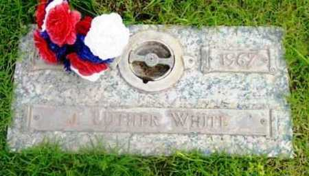 WHITE, JOHN LUTHER - Yavapai County, Arizona   JOHN LUTHER WHITE - Arizona Gravestone Photos