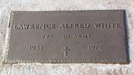 WHITE, LAWRENCE ALFRED - Yavapai County, Arizona   LAWRENCE ALFRED WHITE - Arizona Gravestone Photos