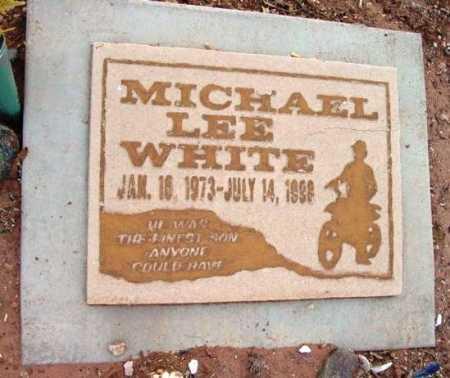 WHITE, MICHAEL LEE - Yavapai County, Arizona   MICHAEL LEE WHITE - Arizona Gravestone Photos