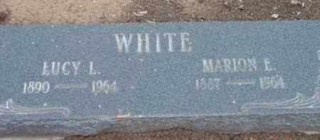 JENKINS WHITE, LUCY LUELLA - Yavapai County, Arizona | LUCY LUELLA JENKINS WHITE - Arizona Gravestone Photos