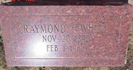 WHITE, RAYMOND F. - Yavapai County, Arizona   RAYMOND F. WHITE - Arizona Gravestone Photos