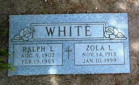 WHITE, RALPH LAFAYETTE - Yavapai County, Arizona   RALPH LAFAYETTE WHITE - Arizona Gravestone Photos