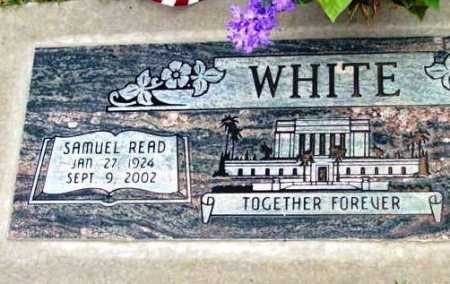 WHITE, SAMUEL READ - Yavapai County, Arizona | SAMUEL READ WHITE - Arizona Gravestone Photos