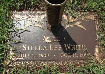 WHITE, STELLA LEE - Yavapai County, Arizona   STELLA LEE WHITE - Arizona Gravestone Photos