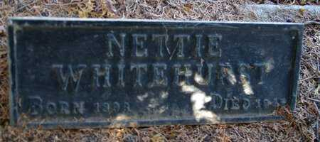 PATTON WHITEHURST, N. - Yavapai County, Arizona | N. PATTON WHITEHURST - Arizona Gravestone Photos