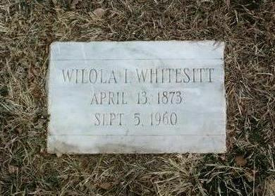 WHITESITT, WILOLA I. - Yavapai County, Arizona | WILOLA I. WHITESITT - Arizona Gravestone Photos