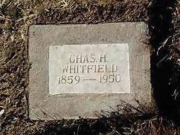 WHITFIELD, CHARLES H. - Yavapai County, Arizona   CHARLES H. WHITFIELD - Arizona Gravestone Photos