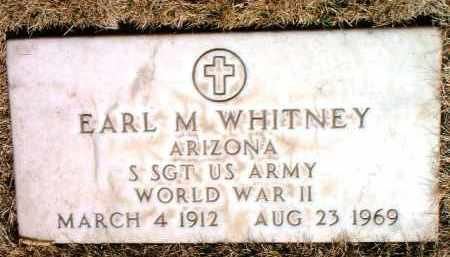 WHITNEY, EARL M. - Yavapai County, Arizona   EARL M. WHITNEY - Arizona Gravestone Photos